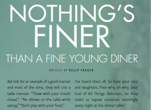 fine young diner article